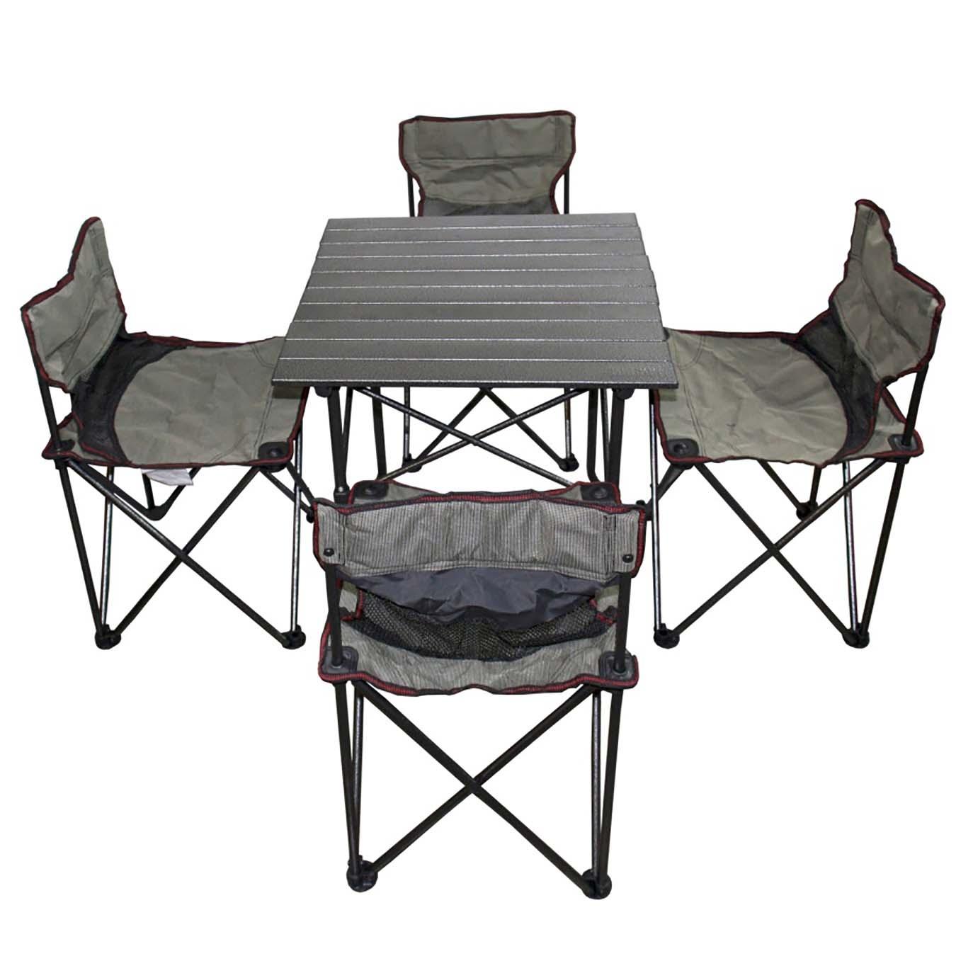 Foldable Mini Table Set