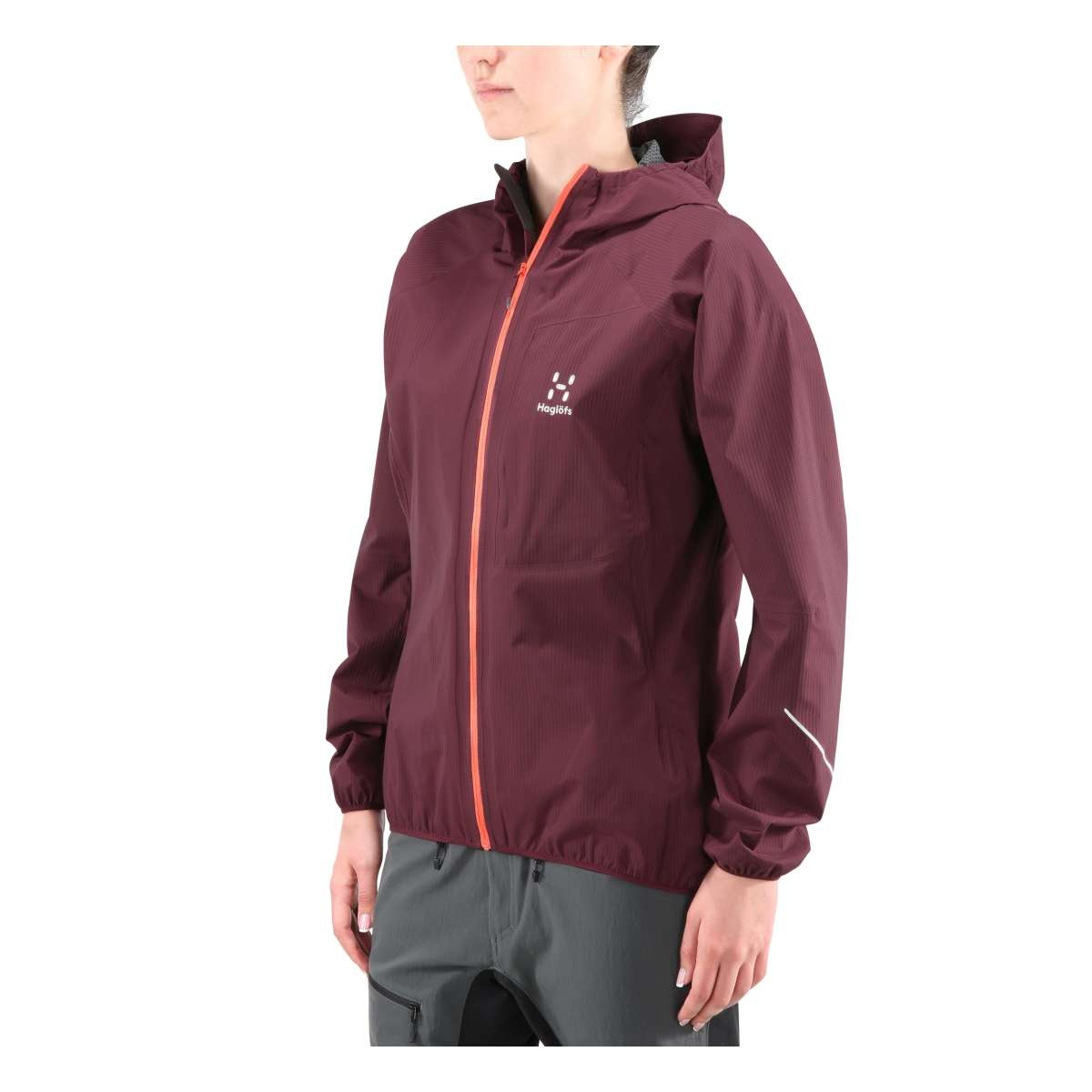 Haglöfs L.I.M Proof Jacket Women Aubergine S